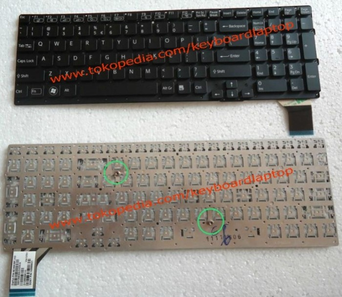 harga Keyboard sony vaio vpc-se series black Tokopedia.com