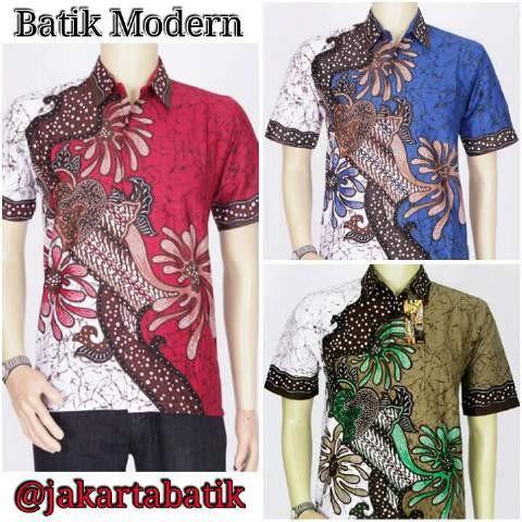 Jual Kemeja Batik Modern Godong Series  Batik Pria Modern