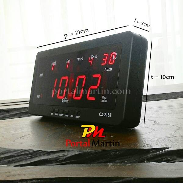 Jual jam dinding digital cek harga di PriceArea com Source · Jam Digital LED CX 2158