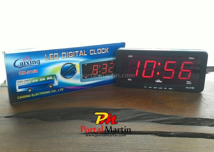 Jam Digital LED CX 2159 Merah