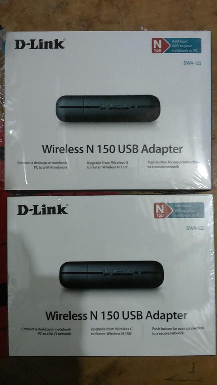 Jual Wireless Usb Adapter D Link Dwa 123 Kab Sleman Basenet Online Tokopedia