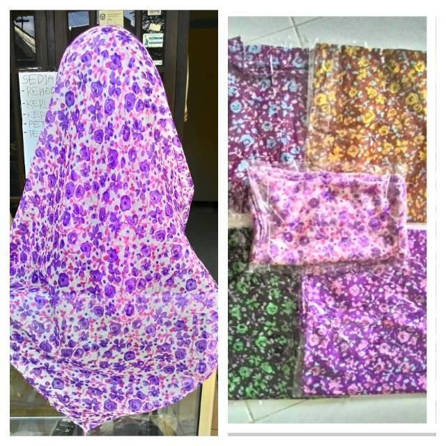 Foto Produk jilbab kerudung segi empat paris  motif dari aisyah house of hijab