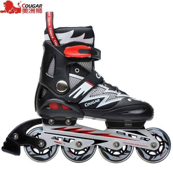 Jual Sepatu Roda (SIZE L) Inline Skate COUGAR MZS835L Balck Silver ... 9326ff8645