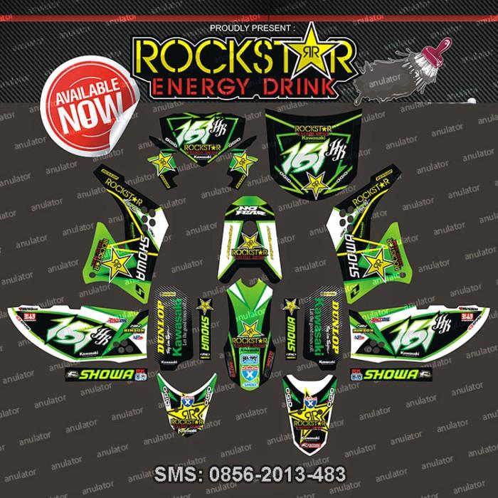 harga Striping kawasaki-klx150-rockstar-energy-drink-seri-hijau spec b Tokopedia.com