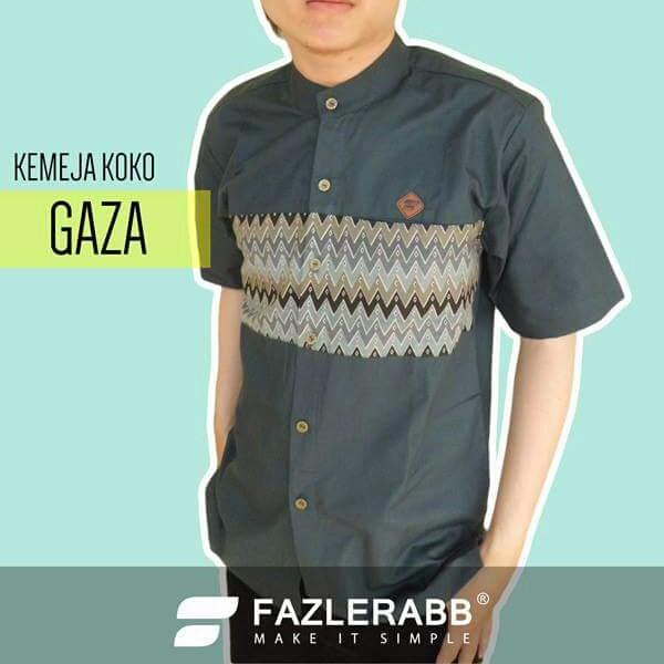 Jual Kemeja Koko Muslim Modern Stylish Gaza