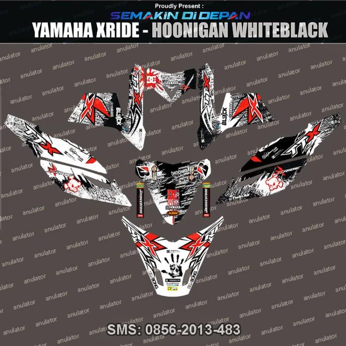 Foto Produk Stiker Striping Motor Yamaha X ride hoonigan motocross enduro Cross dari anulator-custom