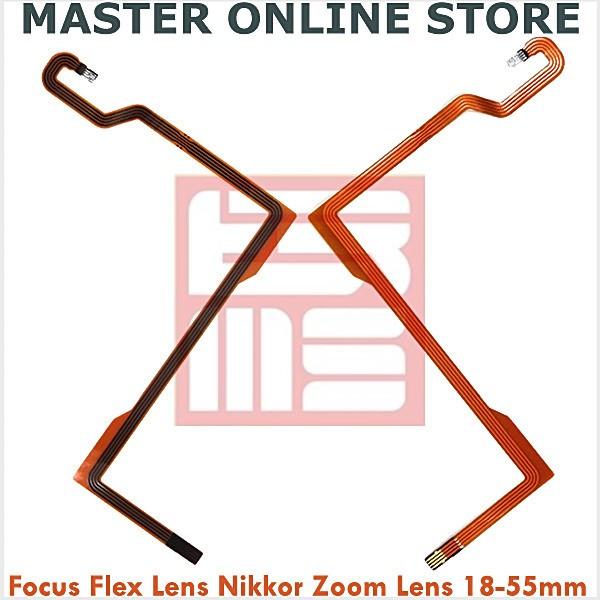 harga Flexible auto focus lensa kit nikon af-s 18-55mm nikkor zoom lens flex Tokopedia.com