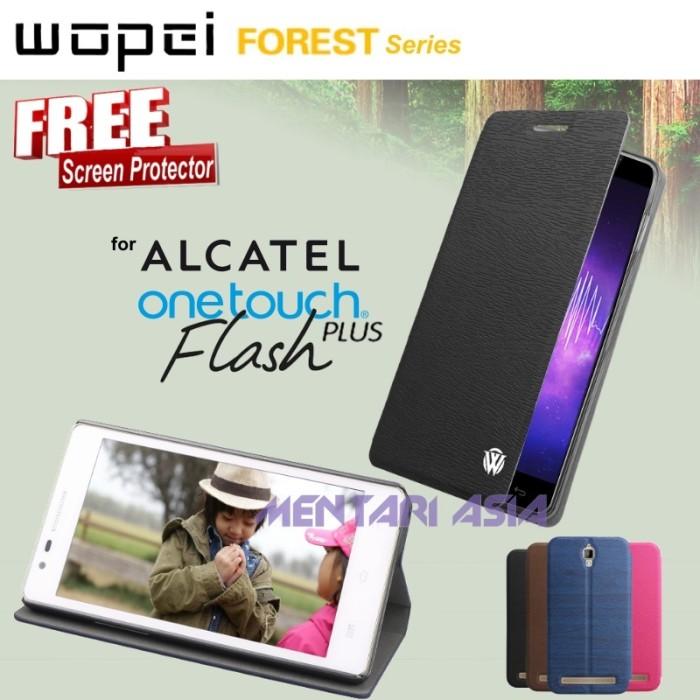 harga Flipcover alcatel onetouch flash-plus : wopei forest ( + free sp) Tokopedia.com