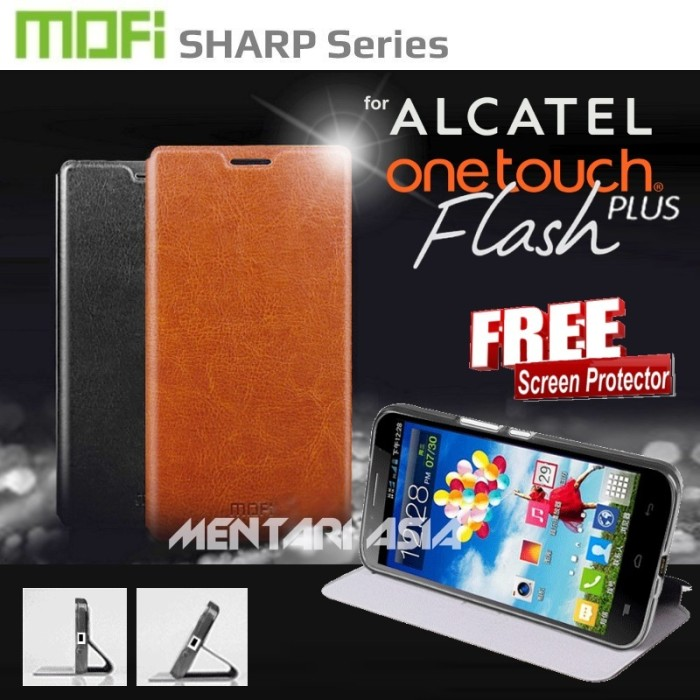harga Flipcover alcatel onetouch flash-plus : mofi sharp series ( + free sp) Tokopedia.com