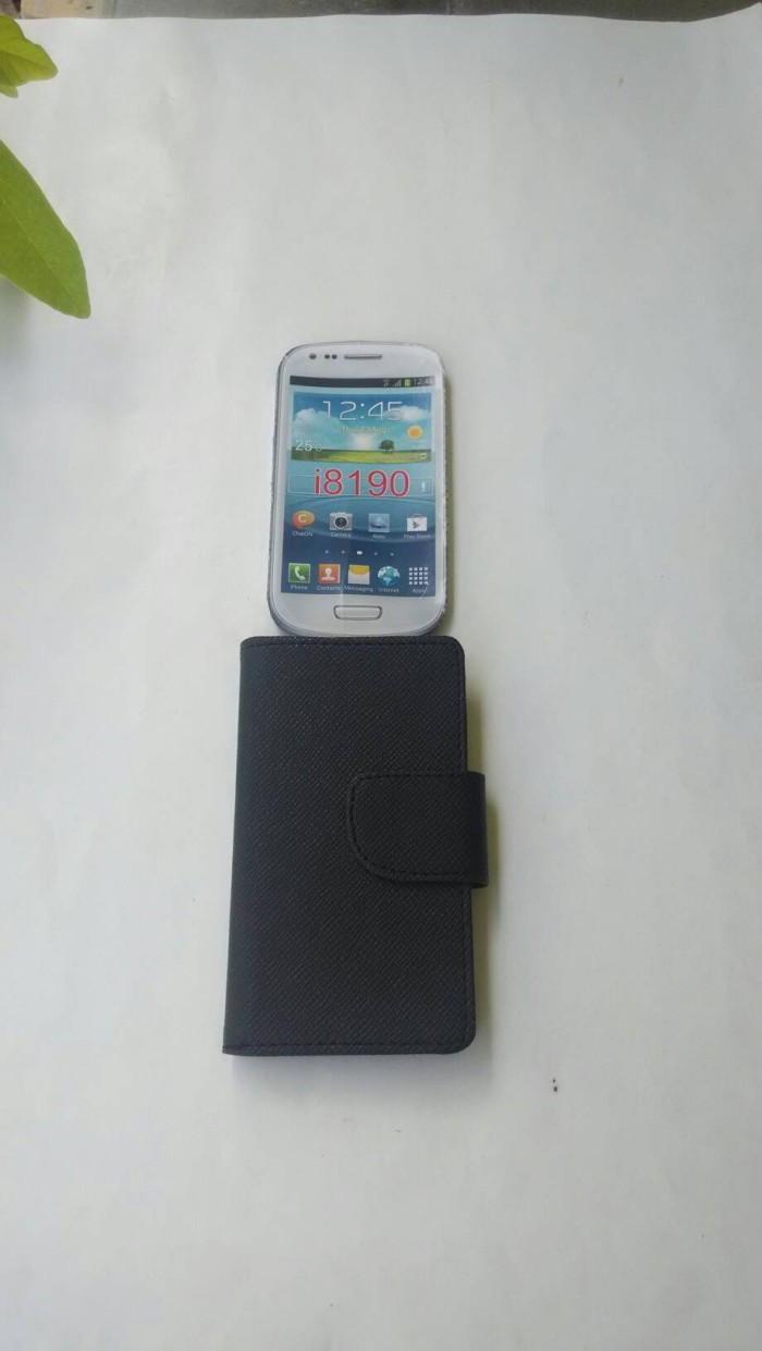 harga Cover case samsung galaxy s3 mini i8190 sarung dompet galaxy s3 mini Tokopedia.com