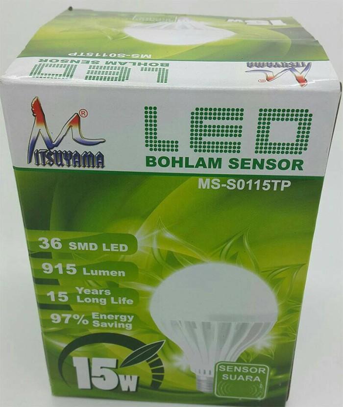 lampu sensor tepuk tangan lampu led lampu ac sensor suara