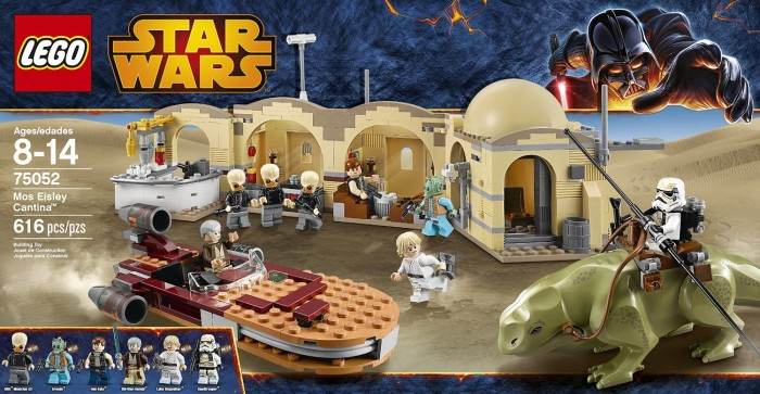 Jual Lego Star Wars Mos Eisley Cantina 75052 Retired Product