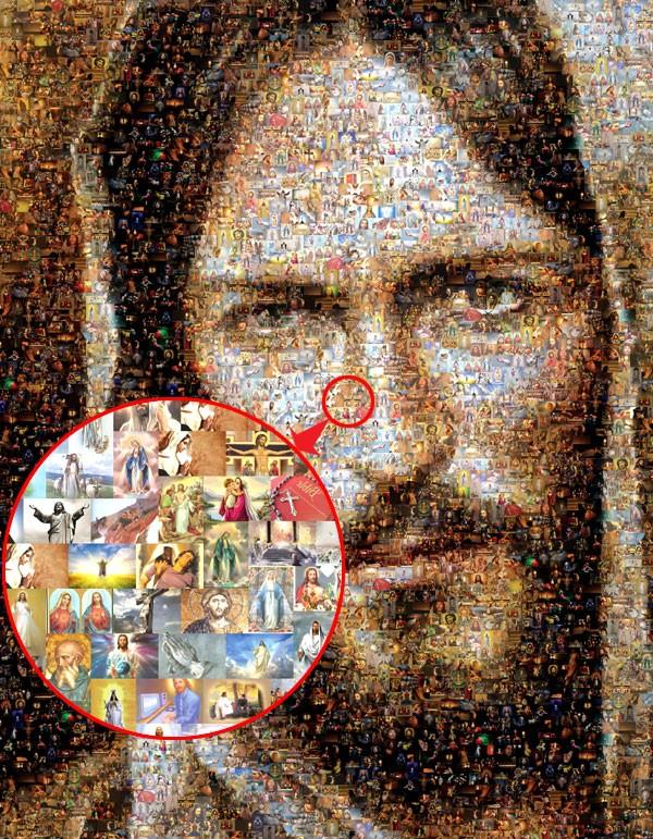 harga Foto mosaic / mozaik tematik Tokopedia.com