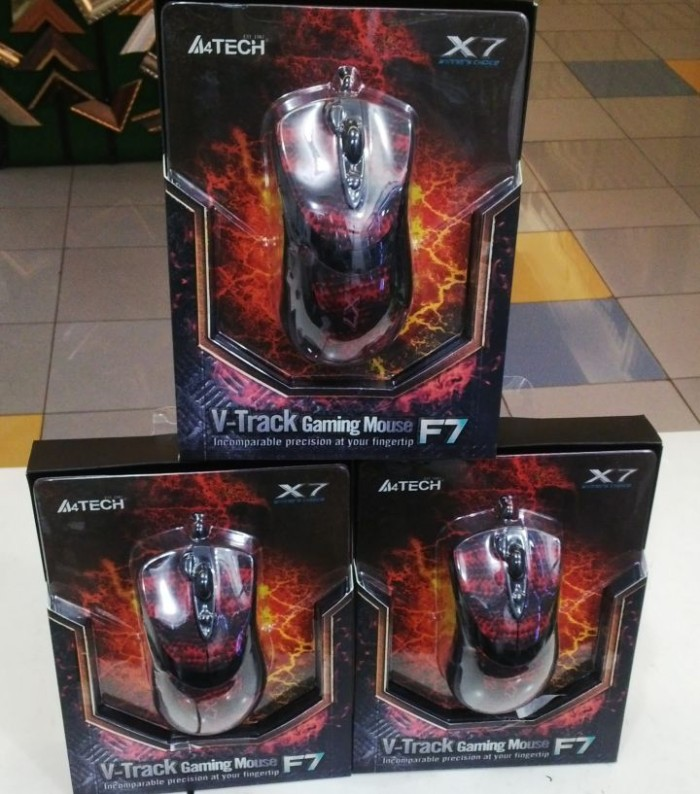 harga A4tech x7 f7 macro gaming mouse Tokopedia.com