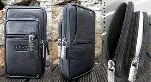 harga Dompet smartphone kulit asli tempat sarung hp tas full kulit sapi asli Tokopedia.com