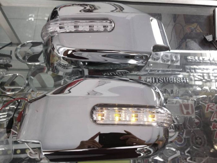 harga Cover spion isuzu panther new / kapsul (chrome + lampu sein) Tokopedia.com