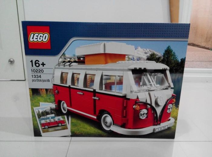 Vw Camper Van >> Jual Lego 10220 Volkswagen T1 Camper Van Vw Camper Kota Surabaya Ibricks Tokopedia