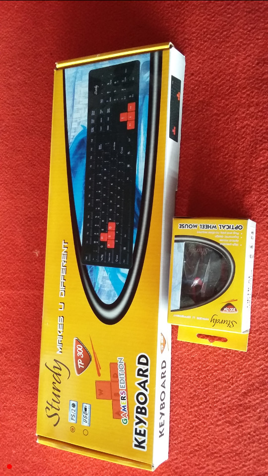 Jual Keyboard Sturdy Tp 300 Ps2 Mouse Dee Store