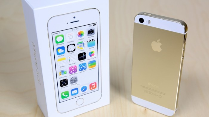 Apple iphone 5 / 5g 32gb white gold new original garansi resmi 1 tahun