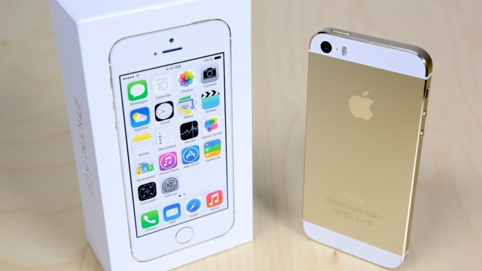 Apple iphone 5 / 5g 64gb white gold new original garansi resmi 1 tahun
