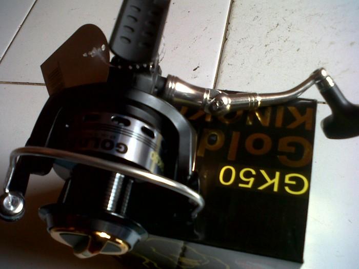 harga Reel golden fish kingkong (gk 50) 10 bearings Tokopedia.com