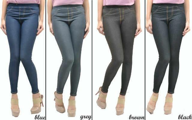 Jual Celana Legging Semi Jeans Kab Bogor Trendy Busana Tokopedia