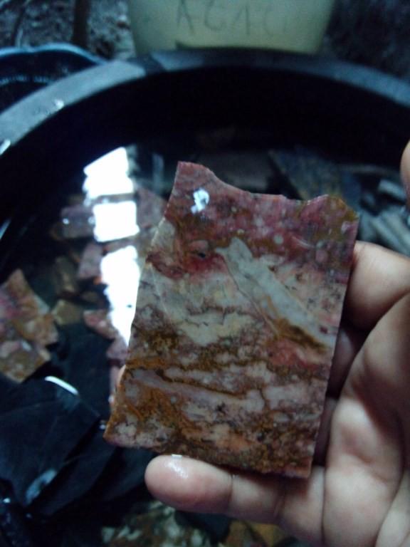 Jual Batu Pancawarna Batik Jember Lempengan 7 Mm Paket 5 Kg Harga Rp