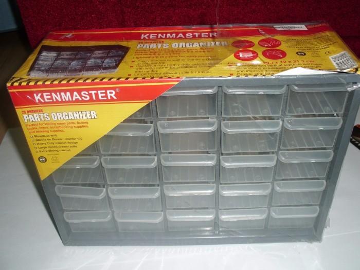 harga 25 Slot Parts Organizer - Rack Mount Cabinet - Componet Storage Tokopedia.com