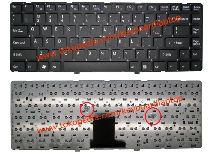 harga Keyboard sony vaio vpc-ea series black Tokopedia.com