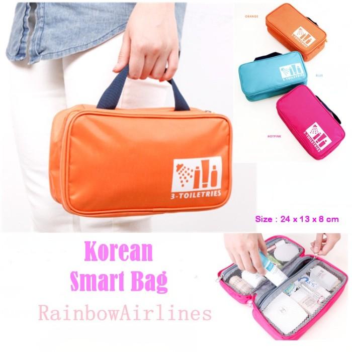 Korean Smart Bag (Tas untuk tempat kosmetik atau aksesoris gadget)