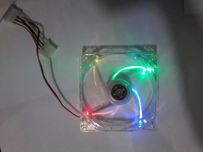 harga Fan casing pc 12cm transparan/lampu Tokopedia.com