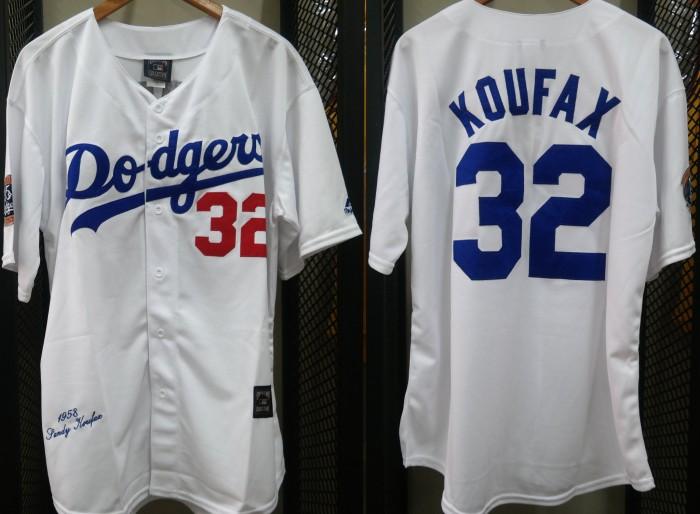 34fb80927 Jual JERSEY BASEBALL MLB LA DODGERS  32 KOUFAX - BJS -Bandung Jersey ...