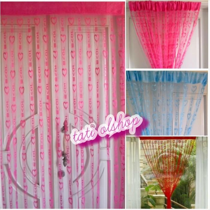 Warna Pink Fanta Mawar88shop; Page - 2. TIRAI BENANG MOTIF LOVE .