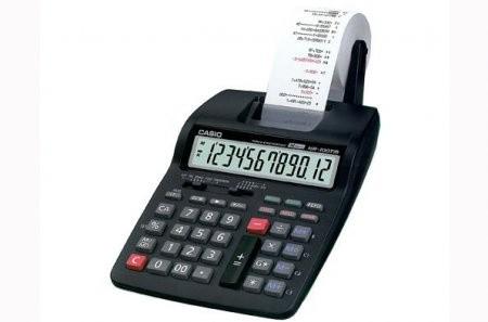 Casio Kalkulator Printer Dr 120tm Putih Models And S Indonesia