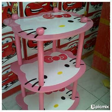 harga Rak 3 Susun Hello Kitty Tokopedia.com