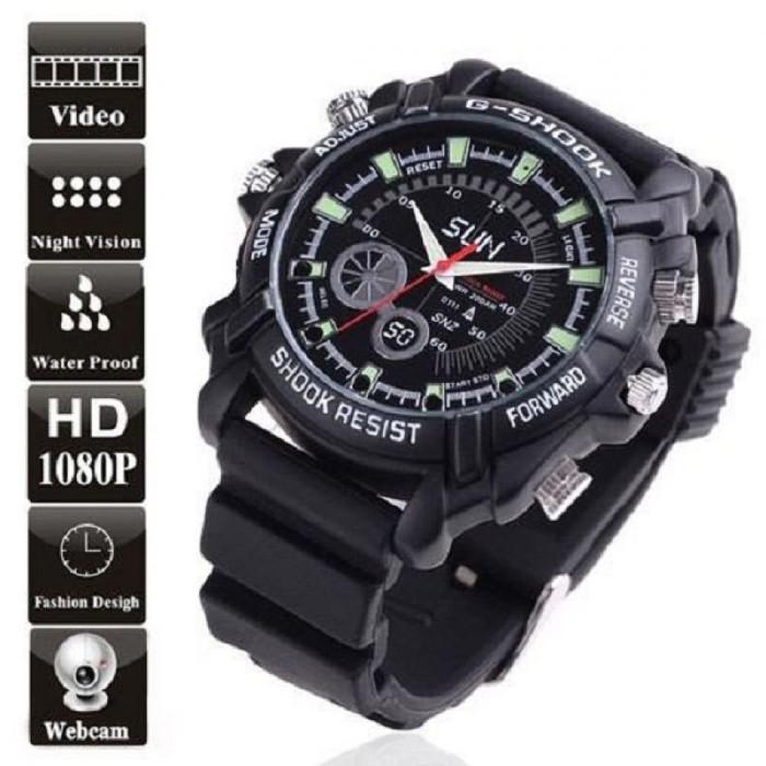 harga Jam tangan kamera pengintai 8gb full hd 12mp anti air night vision spy Tokopedia.com