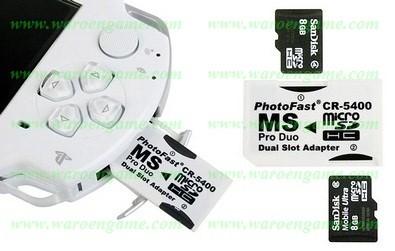 harga Photofast (adapter dual microsd to memory stick pro duo) without msd Tokopedia.com