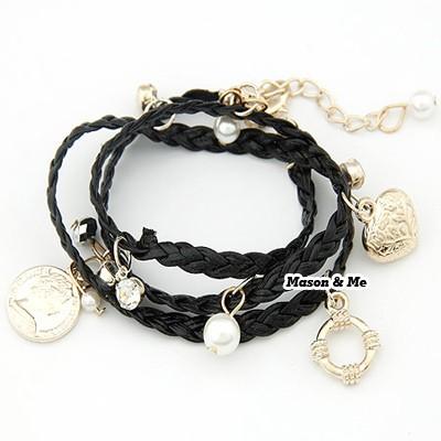 Foto Produk G23536 Black Bracelet / Gelang dari Dafta Shop