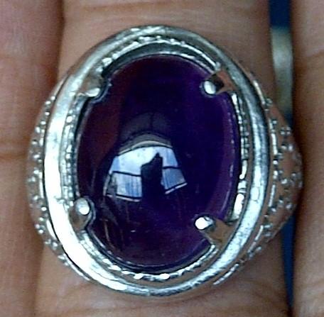 harga Cincin batu kecubung ungu kalimantan - zp 507 Tokopedia.com