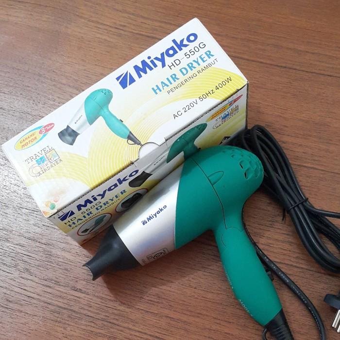 Jual Hair dryer MIYAKO HD-550G - secondoff  00acc169df