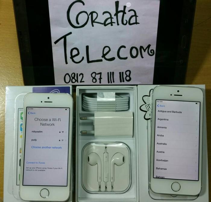harga IPHONE 5S 16GB SECOND Tokopedia.com