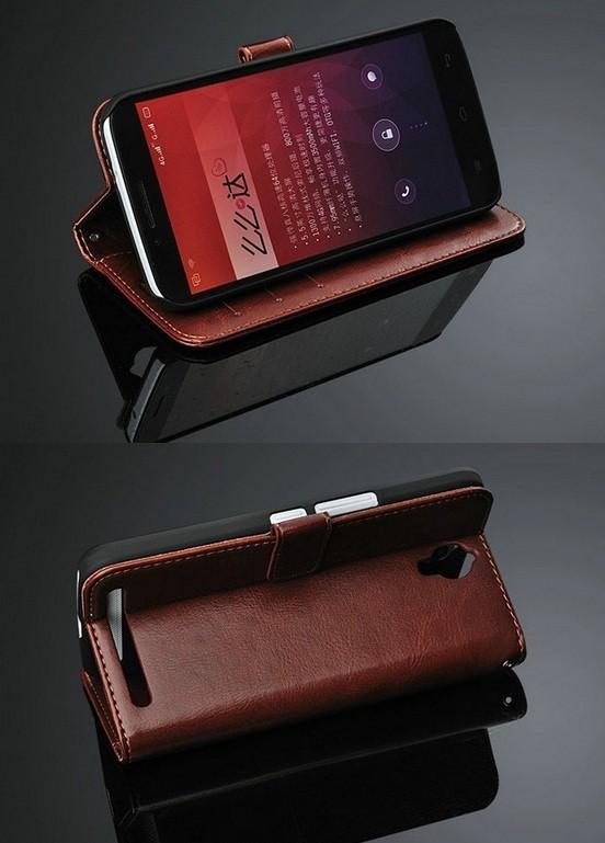 harga Alcatel onetouch flash plus retro flip leather + wallet case card Tokopedia.com