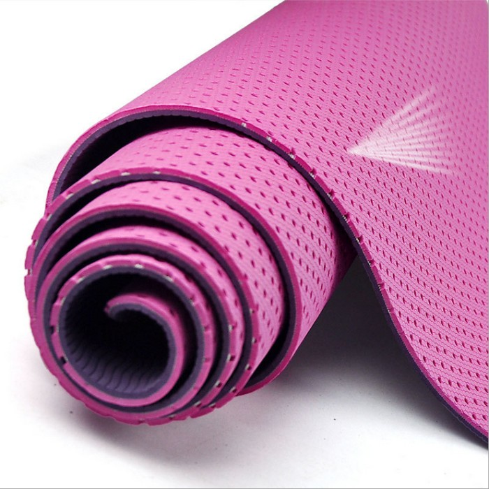 Jual Matras Yoga Mat 6mm Tebal Senam Gym Pilates