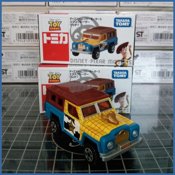 harga Tomica disney ex cruiser toy story woody Tokopedia.com