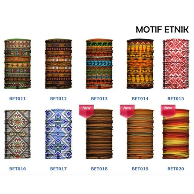 harga Masker buff bandana motif etnik antik seni batik nusantara multifungsi Tokopedia.com