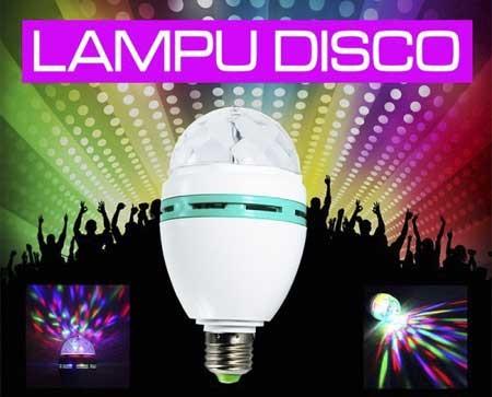 harga Lampu disco sensor suara / music musik rotate Tokopedia.com