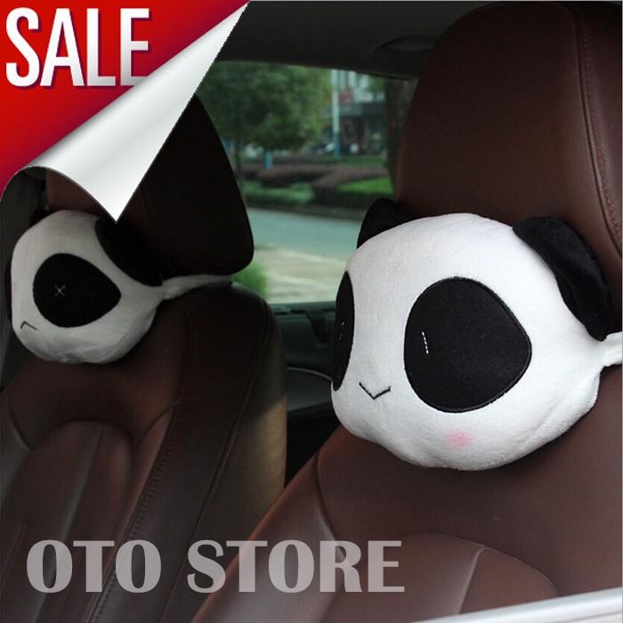 Bantal Mobil (2in1) Lovely Bear Headrest
