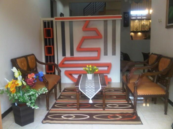 Desain Ruang Tamu Minimalis Ukuran 2x2 jual sekat partisi rumah ruang tamu kota semarang cv kembangdjati furn tokopedia