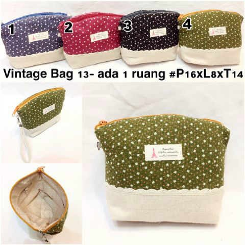 Jual Vintage bag 13 tas pouch tempat serba guna wanita murah cute ... 8ba66daf69