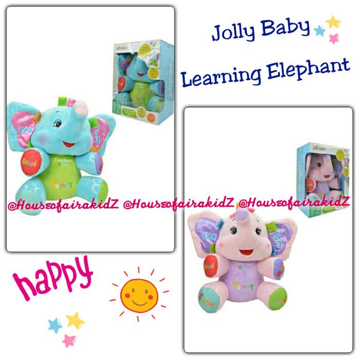 Jolly Baby Learning Blue Elephant